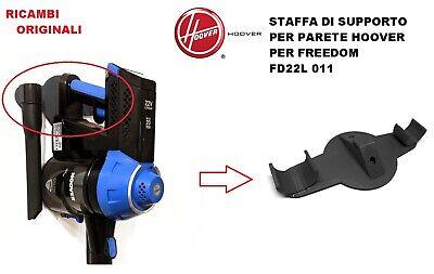 SUPPORTO ASPIRAPOLVERE FREEDOM HOOVER FD22RP 011 STAFFA DA PARETE