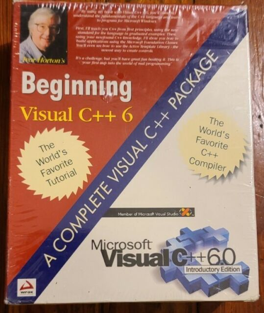 NEW Ivor Horton's Beginning Visual C++ 6 Tutorial, Introductory Edition Compiler