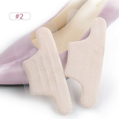 Women Heel Grips Shoe Pads Liner Back Inserts Cushion Insoles Foot Care 1 Pair