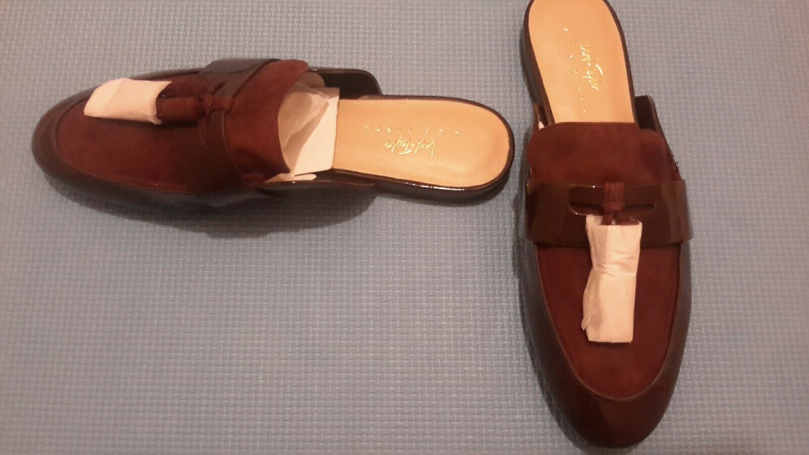 Lord and Taylor Loafer Mules Open Back 2