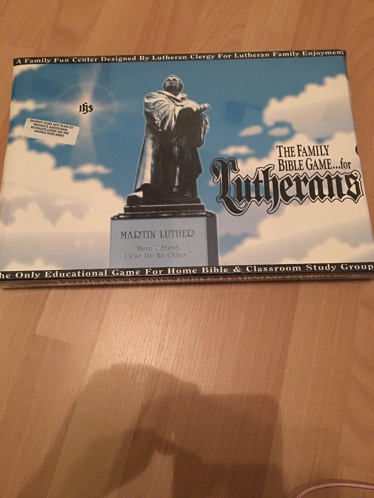 La famille Bible jeu pour luthériens par Martin Luther