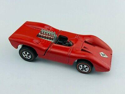Hot Wheels  Ferrari 312P Button Hong Kong Issue Free Shipping USA