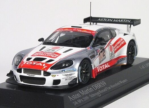 Aston Martin Dbrs 9 SCHROYER 24h Spa Francorchamps 2009 1:43 MODEL MINICHAMPS