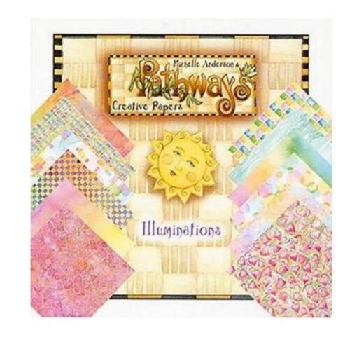 24 scrapbooking papier 30,5 cm PROVOCRAFT CARDSTOCK Pathways Illuminations 5150