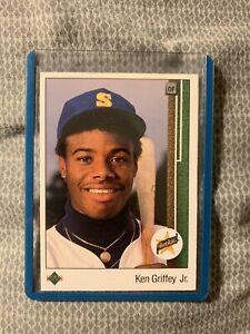 1989 Upper Deck Ken Griffey Jr. Rookie RC ICONIC CARD Fresh NrMint- Mint.🔥📈