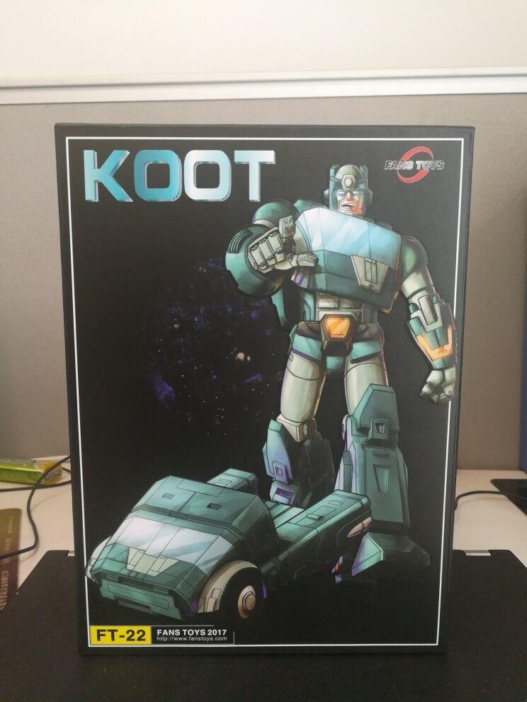 Juguete Transformers fanstoys FT-22 Koot G1 Taza MP Figura De Acción Nueva En Stock