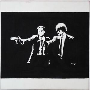 Pulp-Fiction-Vincent-Jules-Gemaelde-Portrait-Bild-Portraet-Pop-Art-TOP-Tarantino
