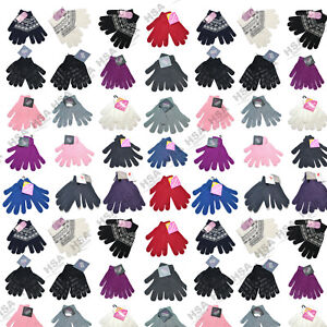 Ladies-Magic-Gloves-Thermal-Thinsulate-Winter-Warm-Gloves-One-Size-xmas-Gift