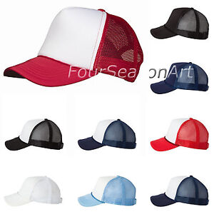 29351e6be40a1 Image is loading Valucap-Mens-Classic-Foam-Trucker-Hat-Structured-Mesh-