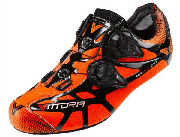 schuhe Fahrrad Race Victory Ikon carbon road Fahrrad schuhe 42,43 Orange Orange
