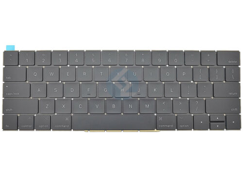 """US Keyboard for Apple MacBook Pro Retina 15/"""" A1707 2016 2017 MPTR2LL//A MPTT2LL//A"""