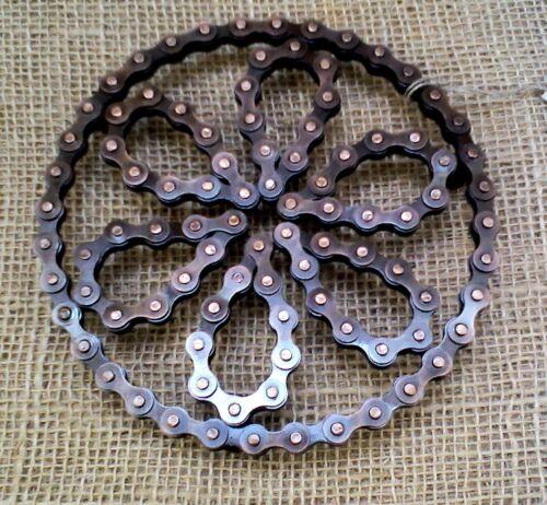 Recycled Bike Bicycle Chain TRIVET POT STAND metal Noah/'s Ark fair trade NEW!