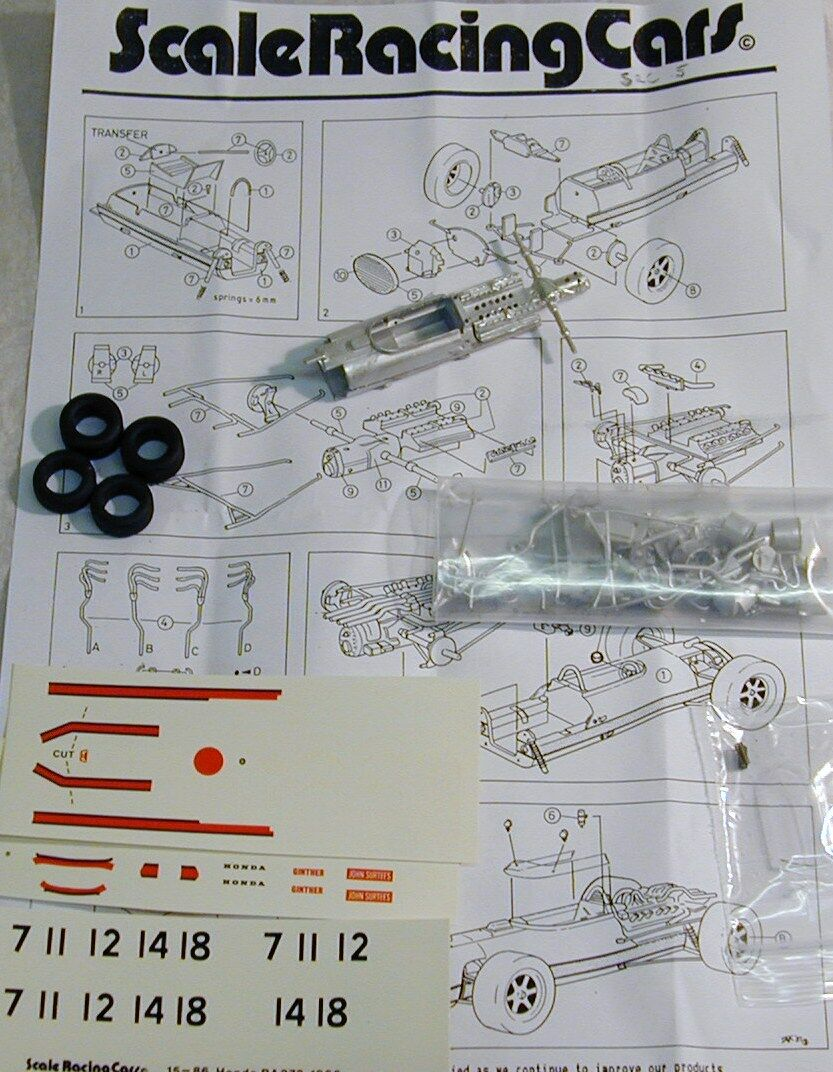 1/43 SRC Models 15 1966 HONDA RA273 Kit da SMTS