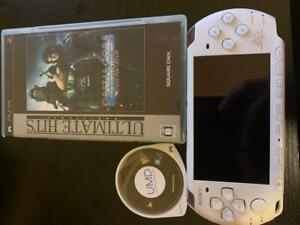 PSP-3000-Final-Fantasy-VII-Crisis-Core-Limited-Console-set-Tested-White-F-S