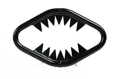 XFR Suzuki LTZ400 KFX400 JAWS ALUMINUM FRONT BUMPER JSE301-HGB GLOSS BLACK