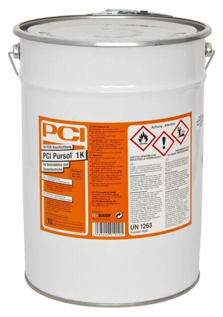 PCI Pursol 1 K 10 kg Ral 7032 Gris Silex Boden-Beschichtung