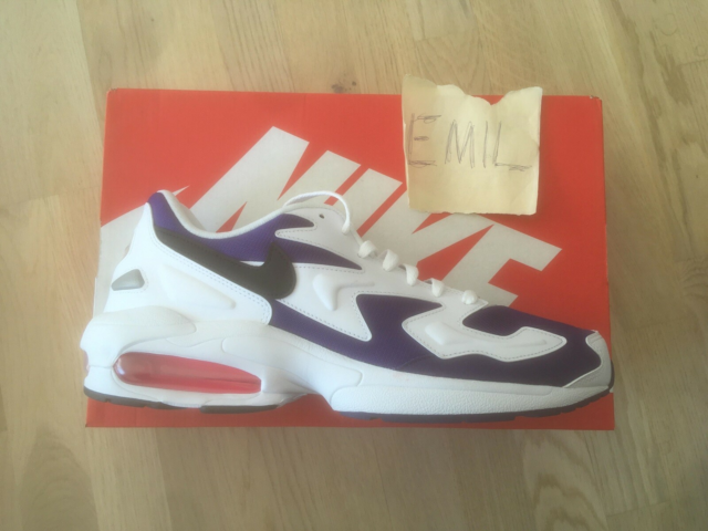Sneakers, Nike, str. 45,  Ubrugt, Nike Air Max 2…