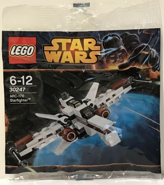 LEGO Star Wars ARC-170 Starfighter 30247.PolyBag Promo.RARE.SEALED.FREE POSTAGE.