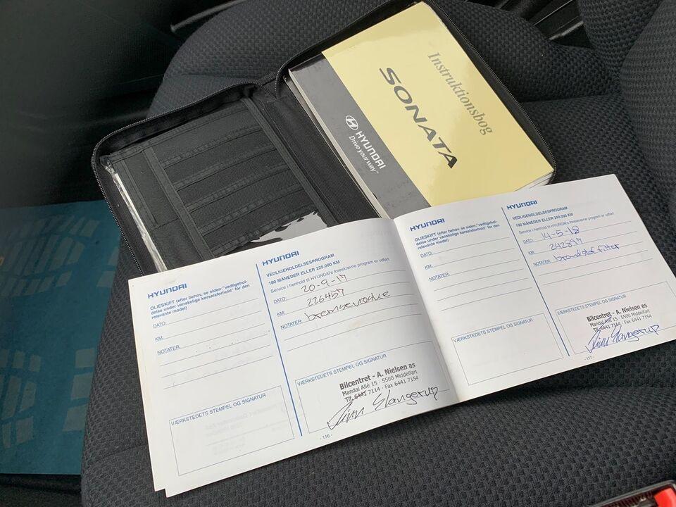 Hyundai Sonata 2,0 CRDi GL Diesel modelår 2008 km 252000