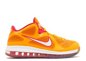 Nike LeBron 9 IX Low Floridian Orange Size 11. 510811-800 Cavs Soldier