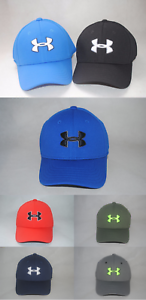 ed8b94f84e3 New Under Armour UA Blitzing II Stretch Fit Youth Boys  Golf Cap Hat ...