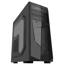 "AVP MAMBA BLACK MESH ATX MIDI TOWER CASE - SIDE WINDOW & 2.5"" SSD SUPPORT"