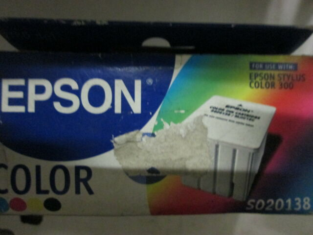 New Genuine Epson Stylus Color 300 Color Ink S020138