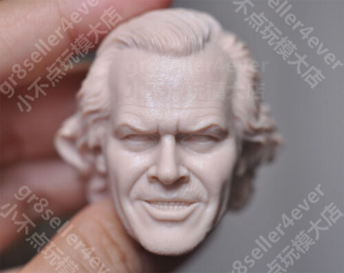 1//6 scale Blank Head Sculpt Jack Nicholson The Shining Jack Torrance guilty face