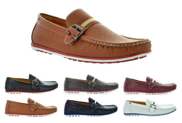 FREE SHIPPING Marjoo Men's Boat Shoes Casual Moccasin Slip On Loafers Deck Dacio