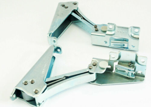 Per Ariston Integrata Frigo Congelatore Metallo Cerniera Porta Kit Dx E Sinistro