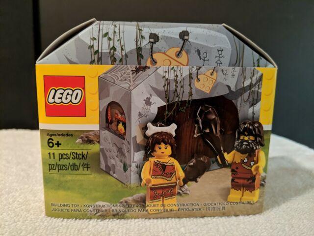 LEGO 5004936 Caveman Cavewoman Minifigures Iconic Cave Set Promo for sale online
