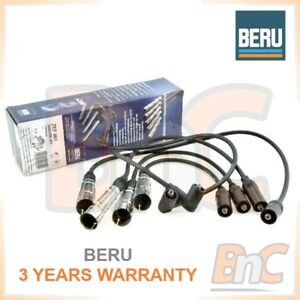 GENUINE-BERU-HEAVY-DUTY-IGNITION-CABLE-KIT-AUDI-80-B3-B4-1-6-1-8-2-0