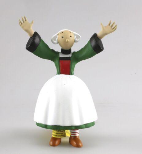 Figurine plastique Bécassine Bécassine bras grand ouvert Plastoy