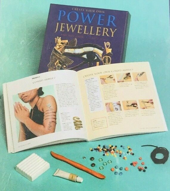 Create Your Own Power Jewellery Kit & Book - Abby Rose Dalto With Eileen M Rose