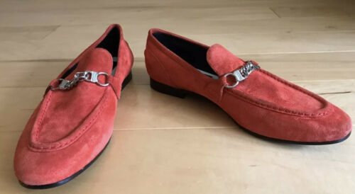 Rag & Bone Cooper Loafers, Red, Size 38.5