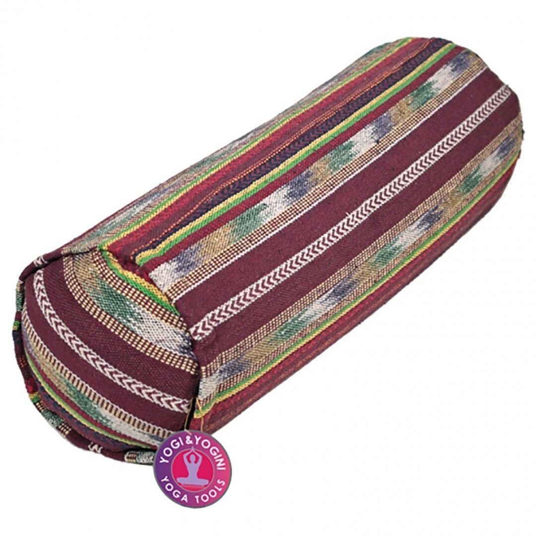 Tribal Cylinder Bolster Cushion,  Größe 60cm x 20cm