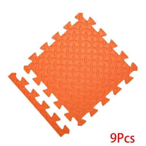 9pcs Eva Baby Kids Crawl Interlocking Floor Tiles Foam Puzzle Exercise Play Mat