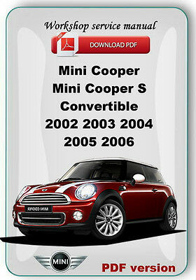 mini cooper collection on ebay rh ebay com 2006 Mini Cooper Repair Manual 2006 Mini Cooper Radio Manual