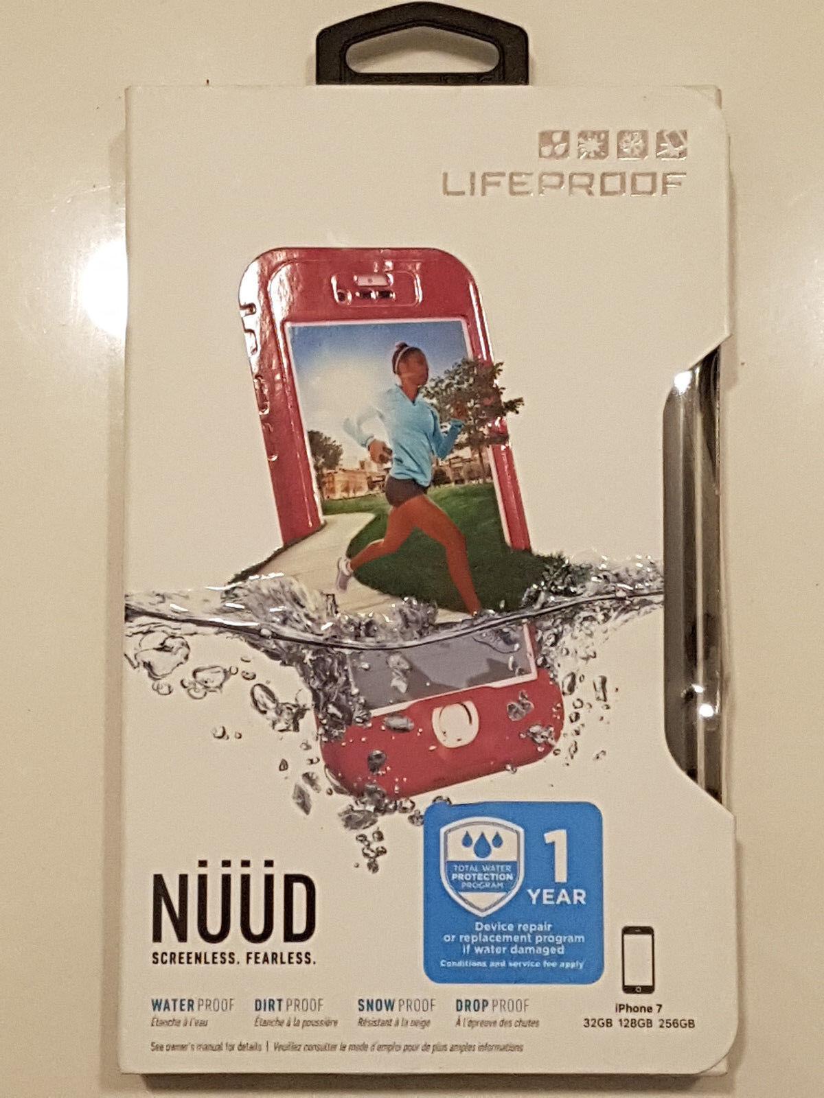 Lifeproof Nuud Waterproof Case For Iphone 7 Plum Reef Purple M21 Ebay Samsung Galaxy S6 Fre 77 51242 Black