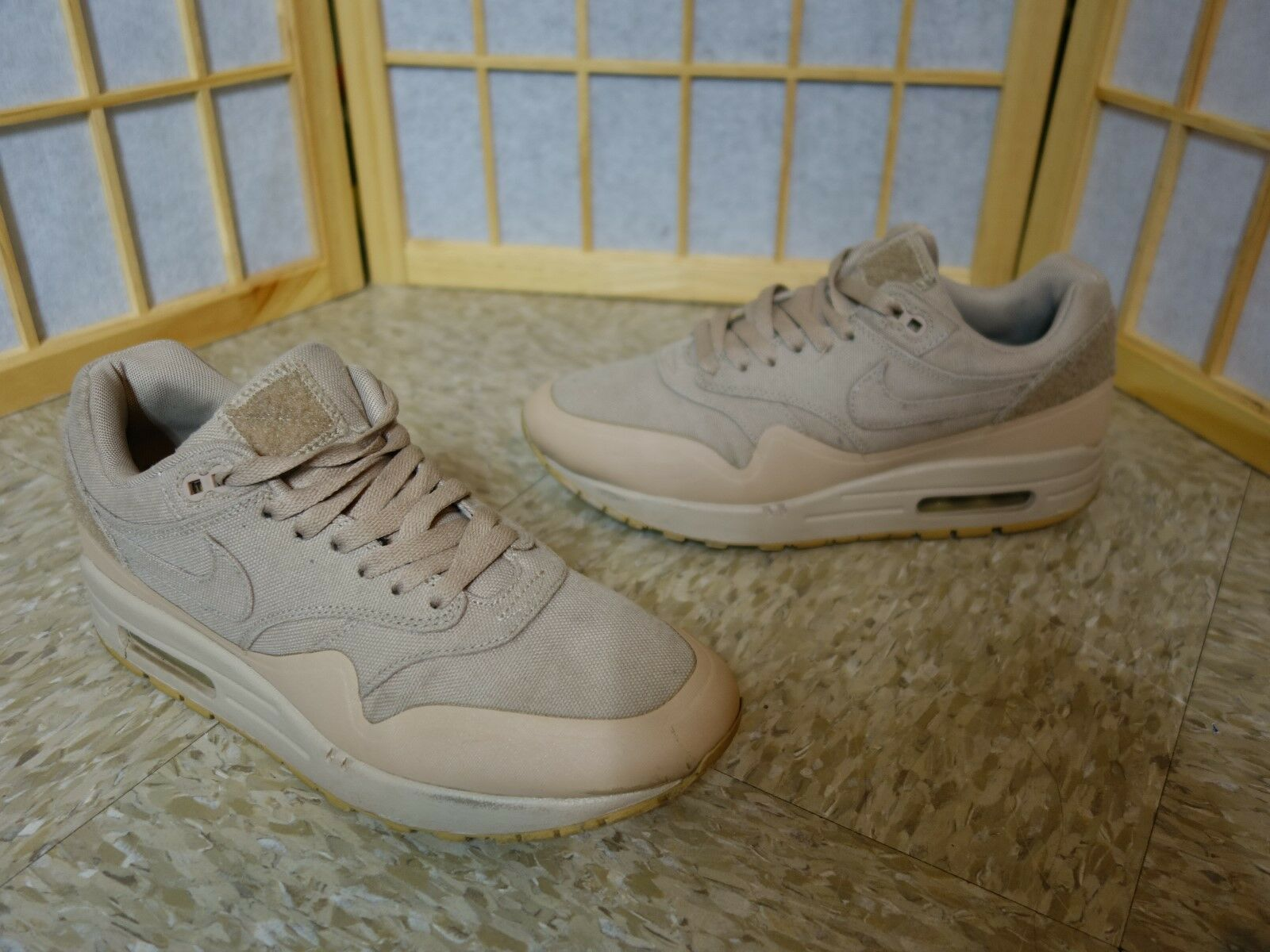 Uomota og raro nike air max nds nds nds / sp 1 cerotto sabbia beige qs raro vintage bello correre 10abce