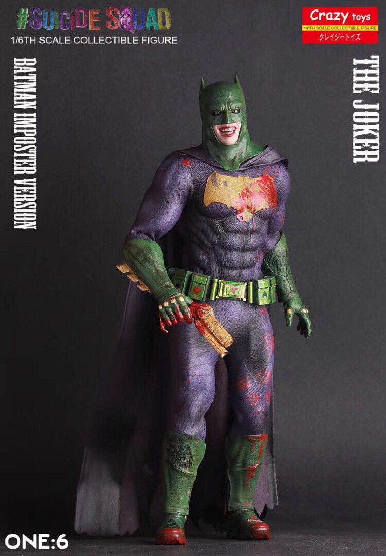 Crazy Toys DC Comics Suicide Squad The Joker Batman Imposter Version Statue Toy