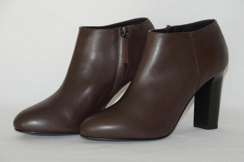 HUGO BOSS ANKLE Stiefel, Mod. Glophie-X, Gr. Gr. Gr. EU 38   UK 5   US 8, Dark braun f8166e