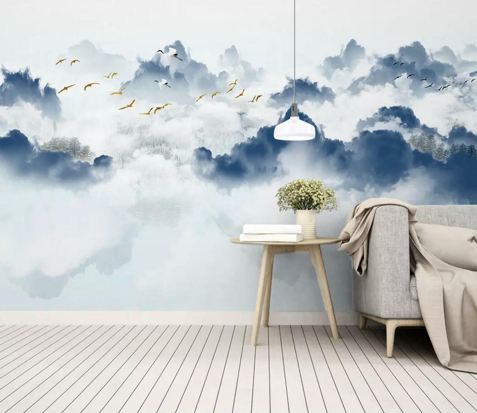 3D Nature Mountain 92 Wall Paper Exclusive MXY Wallpaper Mural Decal Indoor Wall