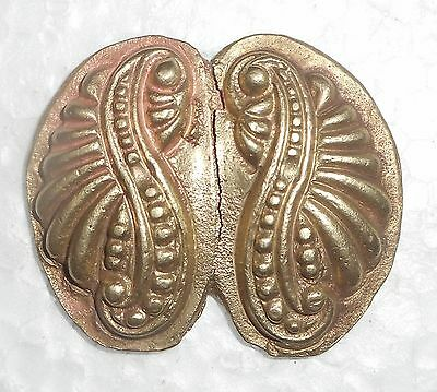 India Antique Jewelry Bronze Die For Beautiful Ear Ring Design Hand Casting z295