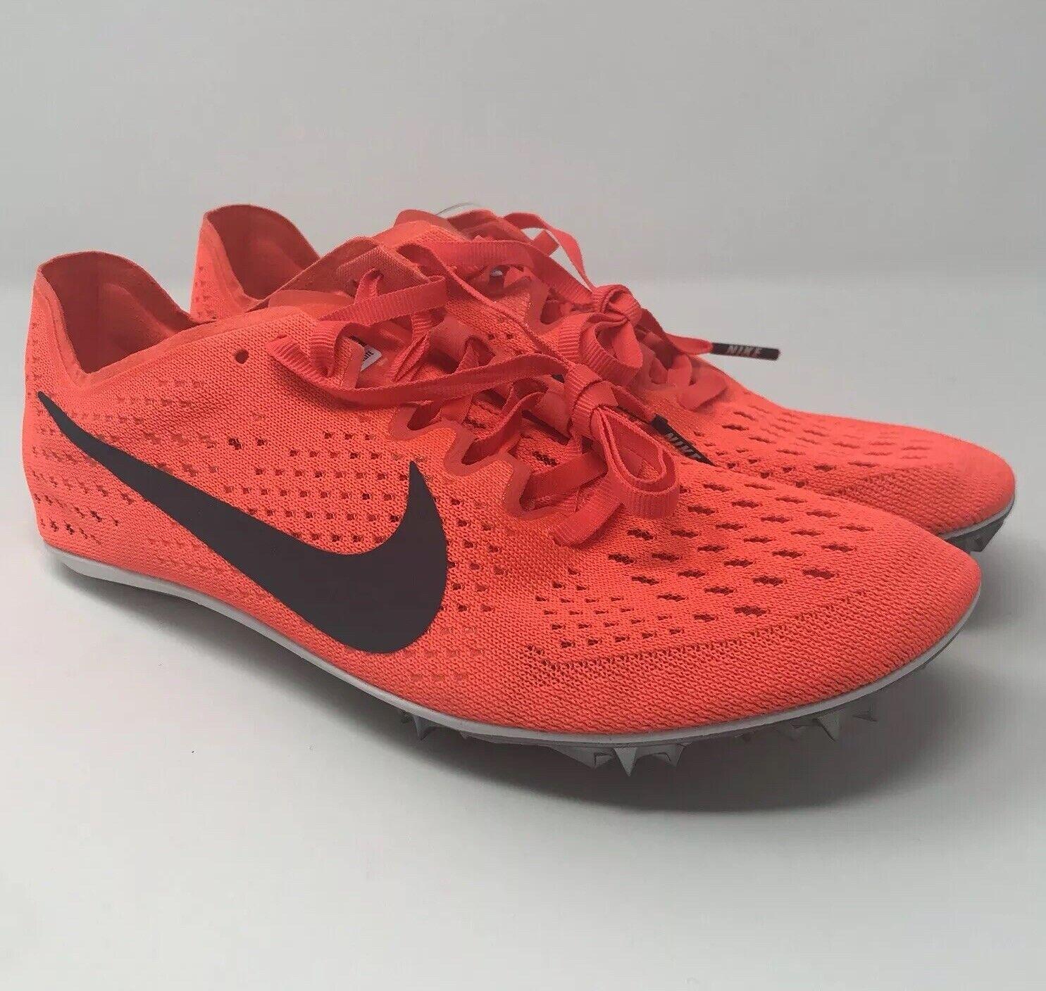 Nike Zoom Victory Elite 2 Track shoes w  Spikes Men's Crimson 835998-614 Sz 6.5