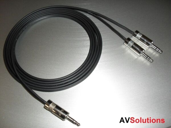 6 Mtrs. - Ipod/ipad/iphone/mp3/pc/tv To B&o Beolab 4/beolab 4pc Cables (shq)