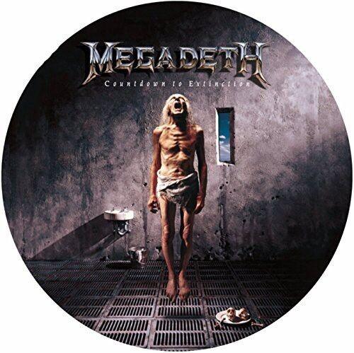 Megadeth - Countdown to Extinction [New Vinyl] Explicit, Picture Disc