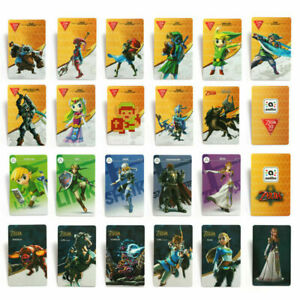 Details about 22PCS Zelda Breath of the Wild PVC NFC Tag Game Cards BOTW  for Switch/Wii U