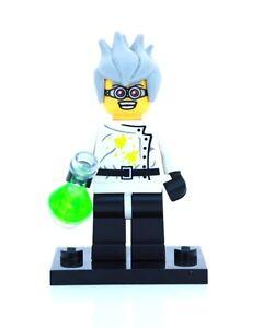 Lego genuine minifigure crazy mad scientist