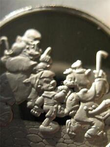 1 Oz 999 Silver Coin Disney S Pinocchio Geppetto Jimmy